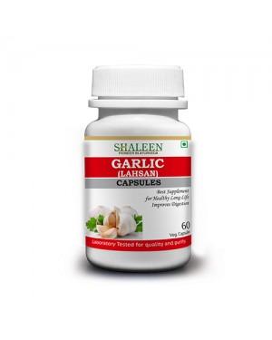 GARLIC/ LAHSUNA (Allium sativum) CAPSULES
